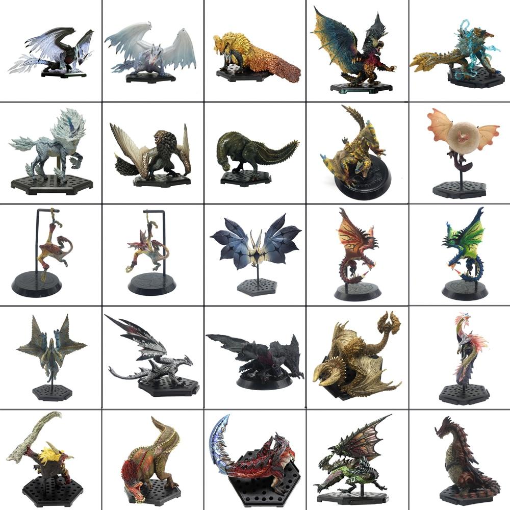 Monster Hunter Jogo Mundo Modelos Quente Dragão Figura de Ação DO PVC Rathalos Gore Magala Decoração Monstros de Brinquedo Modelo Coleção