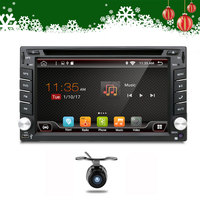 Quad Core 800*480 2 Din Android 6.0 Fit NISSAN QASHQAI Tiida Audio Car Stereo Radio GPS TV 3G WiFi dvd automotivo Universal DDR3