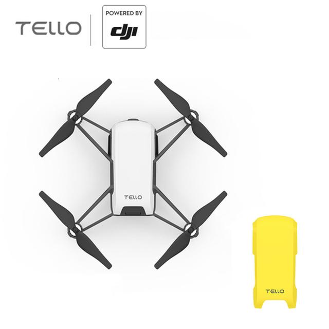 RYZE DJI Tello 720P HD Transmission Camera APP Remote Control Folding Toy FPV RC Quadcopter Drones with EZ Shots