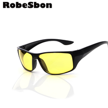 Classic Men Driving Sunglasses Brand Designer High Quality Night Vision Glasses 2 color Retro Drivers Glass Oculos