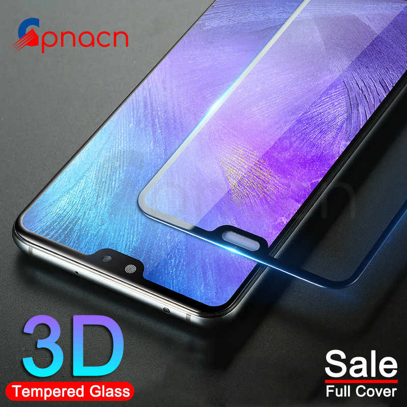 3D Glass on the For Huawei P20 Pro Lite Plus Screen Protector Tempered Glass For Huawei P Smart 2019 Nova 3E Protector Film Case