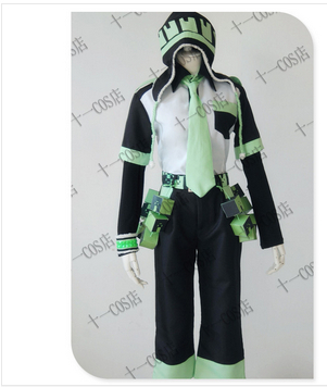 Anime DRAMAtical Murder Noiz Cosplay Costume