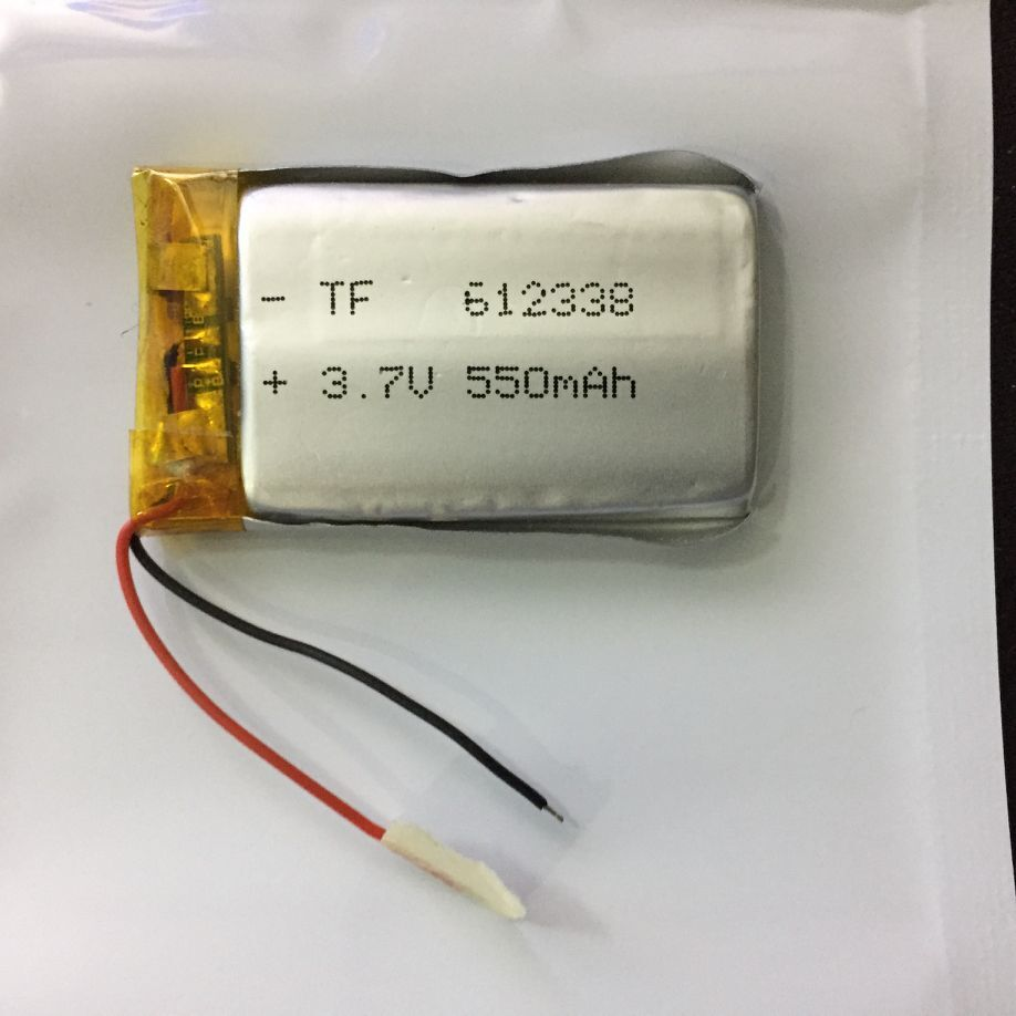 Electronic dog 602338 navigator recorder <font><b>602540</b></font> 3.7V500MAH lithium polymer <font><b>battery</b></font> 612338 Rechargeable Li-ion Cell image