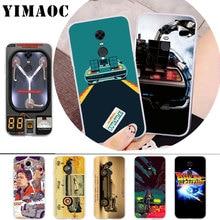 цена на YIMAOC Future DeLorean Time Machine Soft Case for Xiaomi Redmi 4A Note 7 4X 5 Plus 5A Prime 6 Pro 6A S2 Go