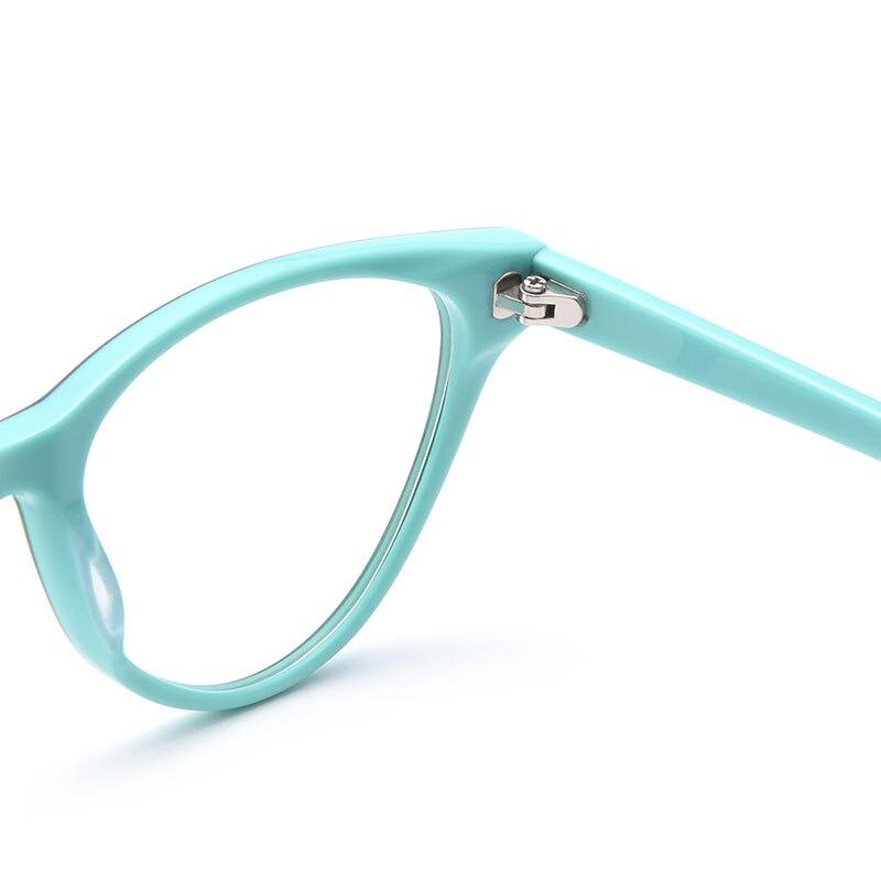 34f3c7c38e6 Sunglass Style Cat Eye Hypoallergenic Acetate Full Rim Women s Optical Eyeglasses  Frames With Spring Hinges Women Glasses Frame-in Eyewear Frames from ...