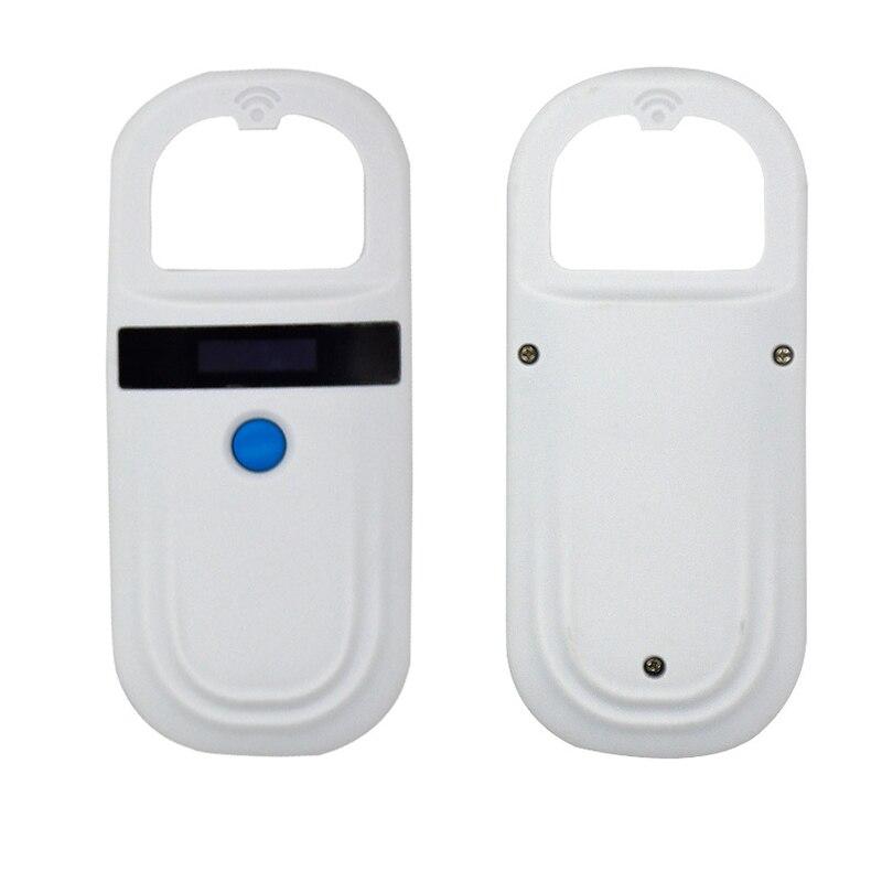 Lecteur d'étiquettes RFID pour animaux de compagnie lecteur d'étiquettes pour chien lecteur d'oreille de porc 134.2 KHZ XHC88