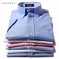 2016 Solid Color Mens Short Sleeve Shirts Summer New Arrival Casual Social Shirt for Men Regular Fit Luxury Cotton Dress Shirts