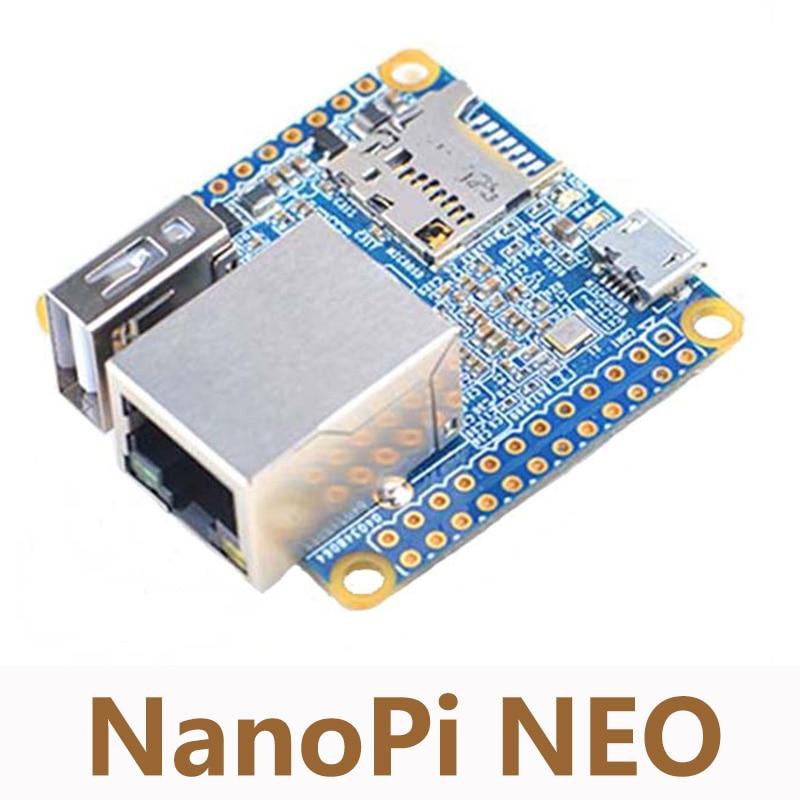 UbuntuCore NanoPi NEO Allwinner H3 Development Board 512M DDRA ARM  Quad-core Cortex-A7 Super Raspberry Pi 40mm*40mm NP001