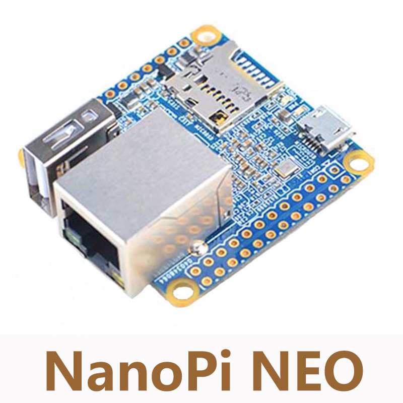 UbuntuCore NanoPi NEO Allwinner H3 Development Board 512M DDRA ARM Quad-core Cortex-A7 Super Raspberry Pi 40mm*40mm NP001