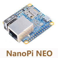 DIY NanoPi NEO Allwinner H3 Open Source Development Board Quad Core Cortex A7 Run UbuntuCore 100M