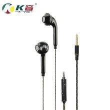K700 1.25 m fones de ouvido no escuro Luminosa iluminação Fones De Ouvido Fones De Ouvido com microfone para um telefone móvel iphone 5/6/7