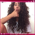 Free Parting 4*4 Silk Base Full Lace Wig Brazilian Virgin Human Hair Loose Wave Silk Top Lace Wig With Baby Hair For Black Women