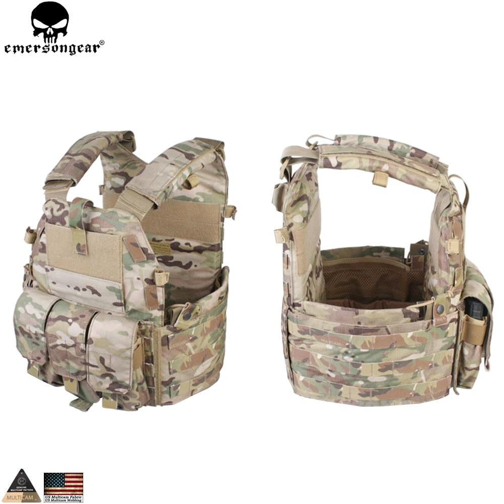 EMERSONGEAR Tactical Modular Vest med Airsoft 094K M4 Mag Pouch - Sportkläder och accessoarer - Foto 5