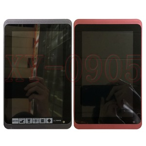 For Acer Iconia Tab B1-720 B1-721 B1 720 Red Black LCD Display + Touch Screen Screen Glass Digitizer Assembly + Frame(China)