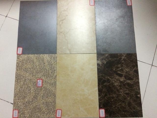 brand new self adhesive stone grain pvc flooring plastic floor tiles waterproof wallpaper 10