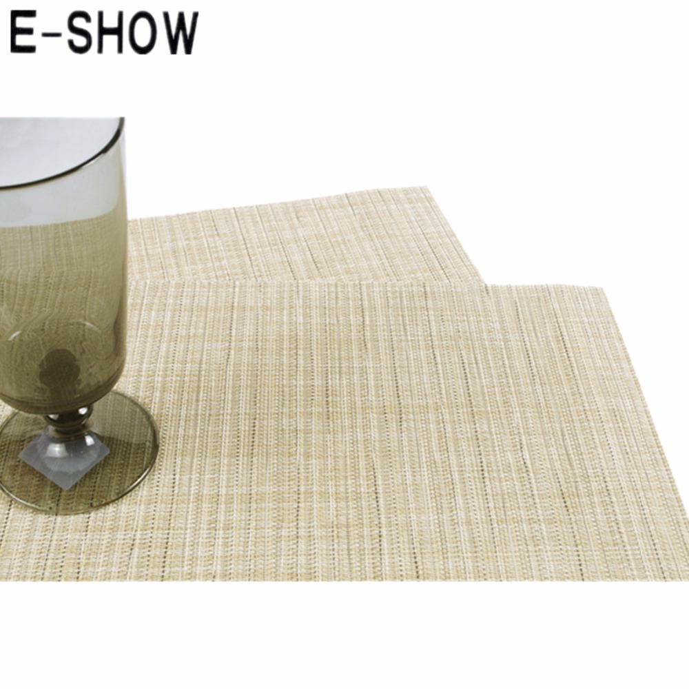 popular bamboo table runnersbuy cheap bamboo table runners lots  - eshow imitation bamboo weaving tableware mat table runner rectanglewaterproof tablecloth desk cover(