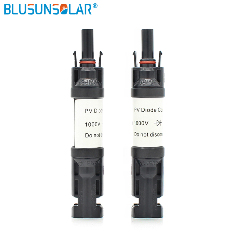 100 PCS New Male to Female PV Solar Fuse Holder MC4 In-line Fuse Connector 2/3/5/10/12/15/20A For System Protection LJ0138