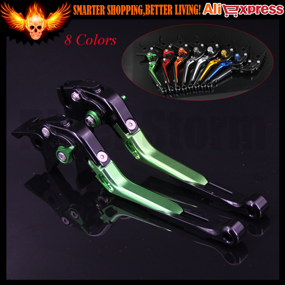 New Folding Extendable Motorcycle CNC Brake Clutch Levers For Honda CB1000R 2008-2016 2009 2010 2011 2012 2013 2014 2015 8 colors cnc folding foldable extendable brake clutch levers for honda cb650f cb 650f cb 650 f 2007 2014 2008 2009 2010 sliver