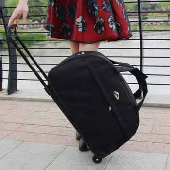 High Quality Waterproof Large Capacity Travel Bag Thick Style Rolling Suitcase With Wheels Luggage for Women Lady Men