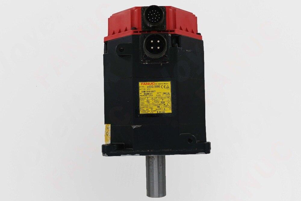 A06B-0141-B077/AC12/2000 moteur à courant alternatif pour la réparation de la Machine (nouveau 95%)