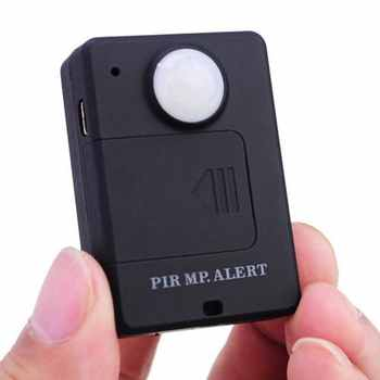 MOOL Forecum A9 Mini Wireless PIR MP. GSM Alert with Infrared Inductive Probe Anti-theft Motion Detection Alarm System Audio