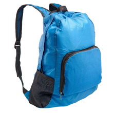 Unisex Outdoor Sports Waterproof Foldable Backpack Hiking Bag Camping Rucksack Blue
