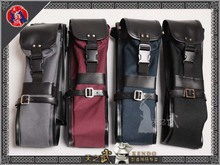 High Quality Oxford Fabric Leather Kendo Aikido Iaido Shinai Bokken Bag Hold 3 Swords Free Shipping
