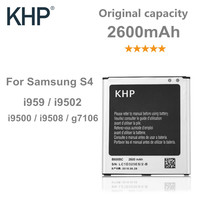 100 Original Brand KHP Phone Battery For Samsung Galaxy S4 IV I9500 I9502 I9505 I9508 NFC
