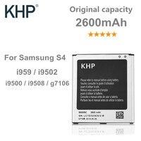 100 Original Brand KHP Phone Battery For Samsung Galaxy S4 IV I9500 I9502 I9505 I9508 NFC