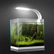 5 Вт/10 Вт/15 Вт светодиодный супер тонкий аквариумный светильник для растений растительный светильник освещение для водных растений водонепроницаемый пристегивающийся светильник для аквариума