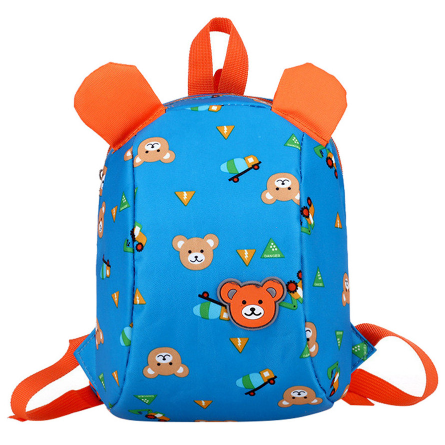 Cute Kid Toddler School Bags Backpack Kindergarten Schoolbag 3D Cartoon Animal Bag for Boys and Girls 2017 new children school backpacks small 3d animal monkey backpack baby toddler backpack kids kindergarten schoolbag for boys
