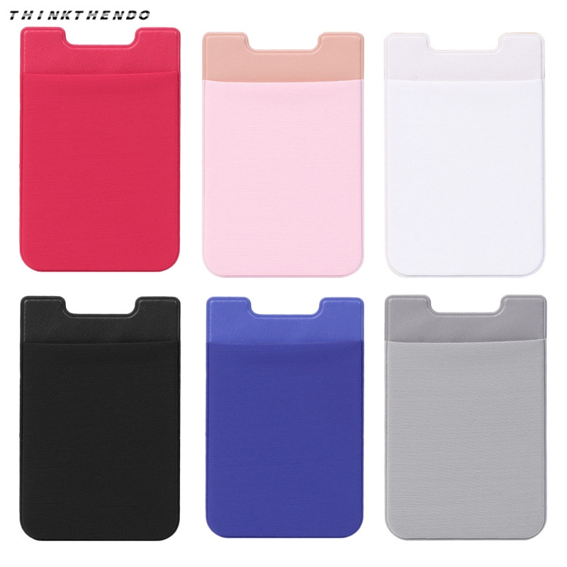 100% QualitäT Elastische Lycra Handy Brieftasche Identifikation-kartenhalter Tasche Stick Auf 3 Mt Klebstoff Ein Kunststoffkoffer Ist FüR Die Sichere Lagerung Kompartimentiert