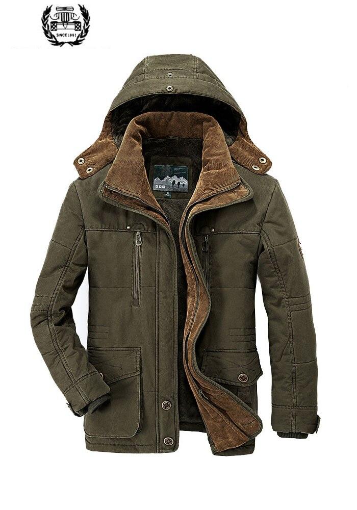 Drop Shipping New Outlet Man vastag kabátok kabátok alkalmi divat gyapjú multi zsebek laza márka ruhák park 4 le