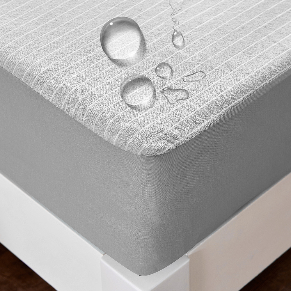 Terry cloth Waterproof mattress Cotton Separates baby urine Anti-mite Bed cover Breathable bed protective case fitted sheetTerry cloth Waterproof mattress Cotton Separates baby urine Anti-mite Bed cover Breathable bed protective case fitted sheet