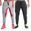 2016 slim Male cotton sweatpants men aesthetics Pan Wear For runners gray clothes Skinny Joggers Sweatpants Boys