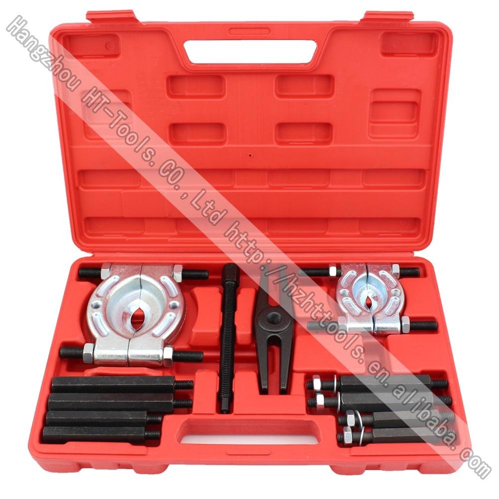 Two Sets Bearing Separator Puller Set Splitters Remove Bearings Housing Kit