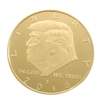 Hot Sale US President Donald Trump Inaugural Golden EAGLE Commemorative Coin