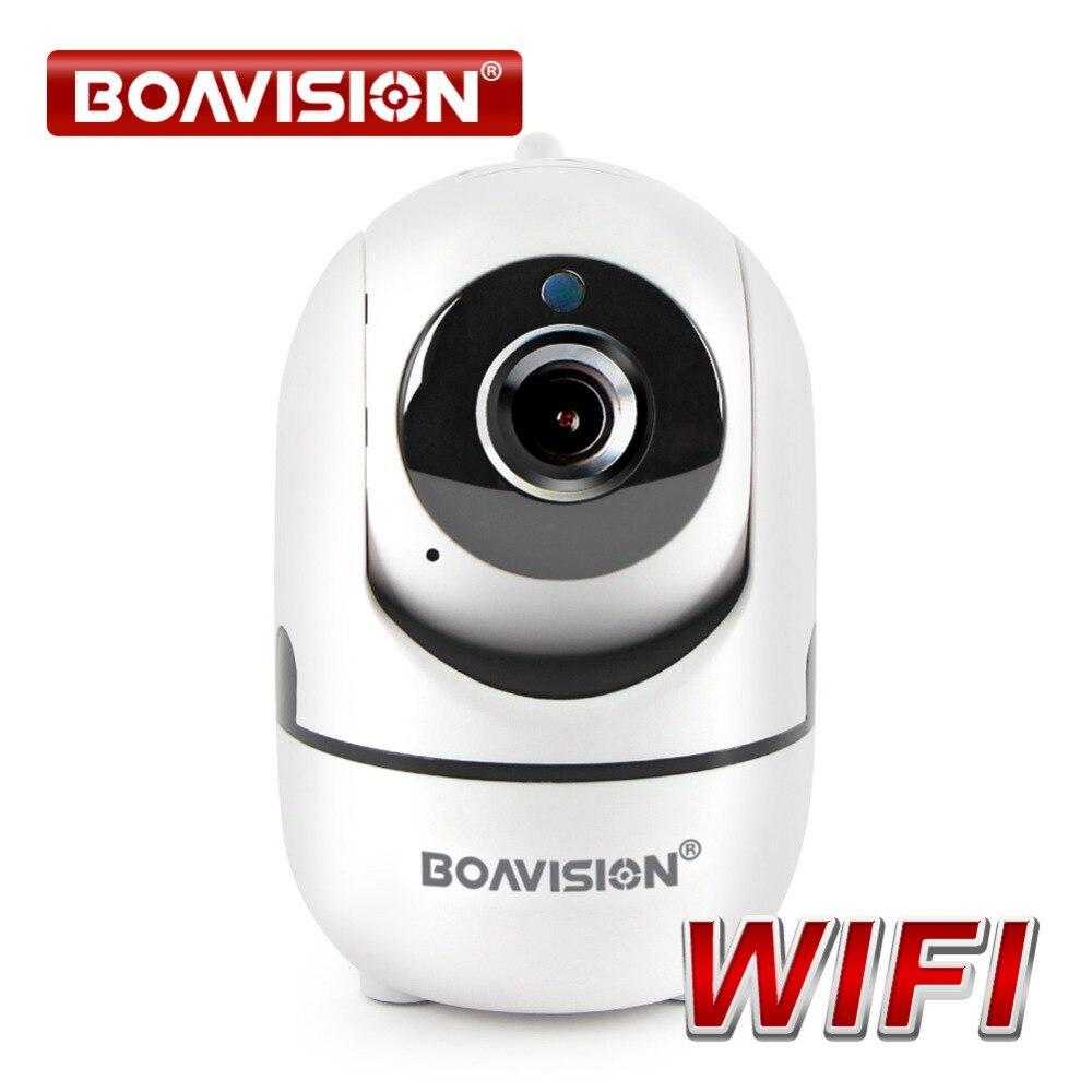 Mini Surveillance Réseau Smart IP Caméra Wifi Night Vision Two Way Audio Enregistrement Sans Fil Wi-Fi de Sécurité Baby Monitor Intérieure