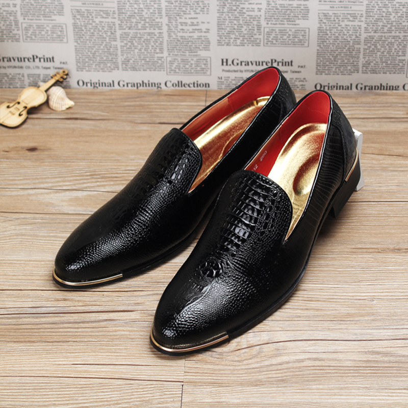 New Designer Luxury Brand Oxford Shoes For Mens Pointed Toe Dress Shoes Italian men formal leather Wedding Shoes Black White hot sale luxury brand men classic oxfords italian mens leather dress shoes new men formal shoes black white patch flowers 39 46