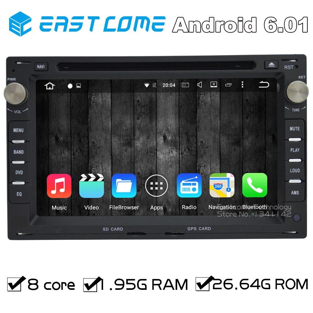 Octa Core 8 Core Android 6.0 lecteur DVD de voiture pour PEUGEOT 307 SEAT ALHAMBRA CORDOBA 6L IBIZA 6L LEON 1 M TOLEDO 1 M SUPERB