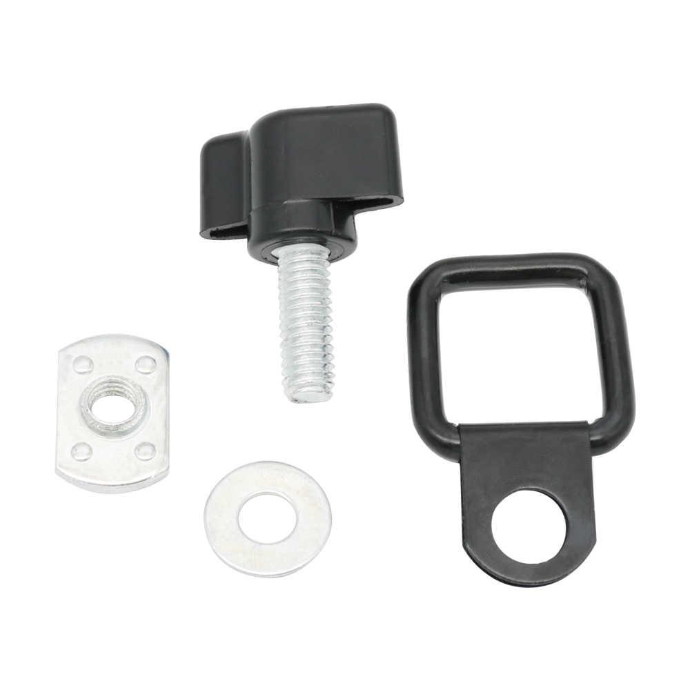 Для Jeep спортивные автомобильные аксессуары Hardtop удаление большого пальца винт d-кольца комплект для Jeep Wrangler TJ JK JKU Sport 1995-2017 аксессуары
