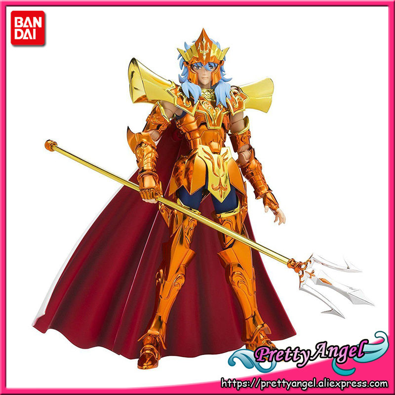 PrettyAngel - Genuine Bandai Tamashii Nations Saint Cloth Myth EX Saint Seiya Sea Emperor Poseidon Action Figure