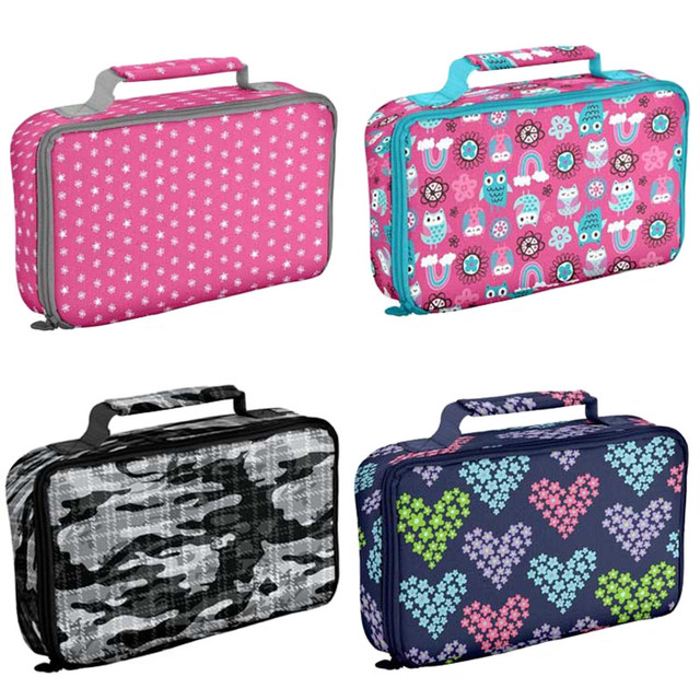 a2c81c6d3f5a US $8.8 |Waterproof Insulated Lunch Bag for Women Kids Boys Girls School  Lunch Box Tote Bags Thermo Thermal Picnic Food Bag-in Lunch Bags from  Luggage ...