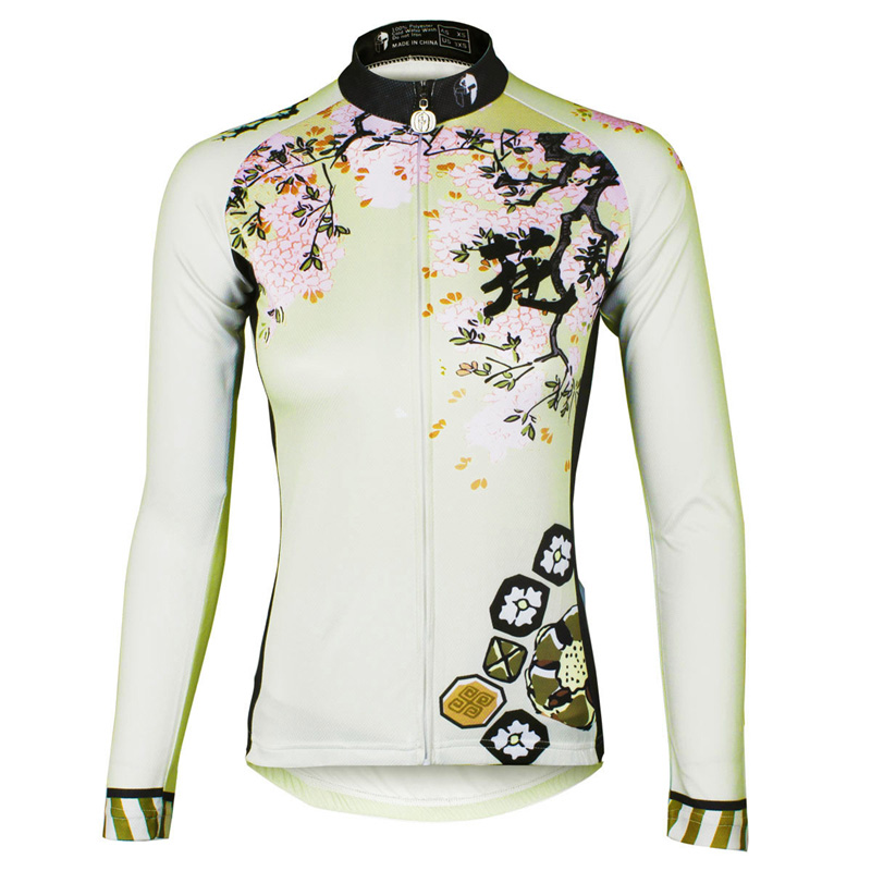 ILPALADINO cycling jersey long sleeve Women Bike jersey Cycling clothing Female MTB Top Ropa Ciclismo Maillot Riding Quick Dry