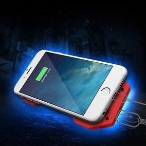 Image 4 - Мобильный кулер для телефона Подставка держатель с power bank 2000mah для iphone Ipad планшет/Электронная книга/умная спортивная игра музыка фильм