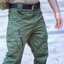 IX9 spodnie taktyczne wiosna spodnie Cargo mężczyźni bojowe armii wojskowe sześć kieszeni spodnie CottonTrousers mężczyźni wodoodporna Pantalon Homme tanie tanio Pełnej długości Cargo pants Wojskowy REGULAR Poliester Midweight Plisowana Suknem Zipper fly Classic Tactical pants Kieszenie