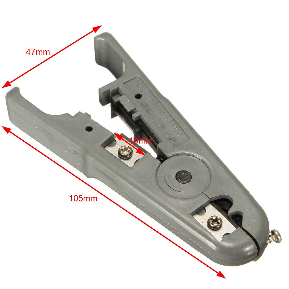 Кабель для зачистки плоскогубцы rj45 rj11 CAT6 CAT5 удар Подпушка локальной сети utp Провода зачистки плоскогубцы щипцы для ручной инструмент mayitr