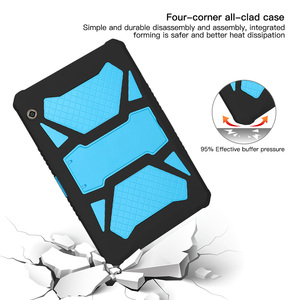 Image 5 - Heavy Duty Armor Case For Huawei MediaPad T5 10 PC and Silicon Cover For MediaPad T5 10 AGS2 W09/L09/L03/W19 10.1 inch cover