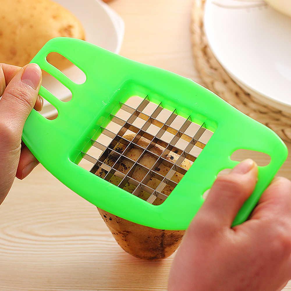 มันฝรั่งทอดชิปตัดเครื่องตัดมันฝรั่ง Chipper ใบมีดเครื่องตัดผักผลไม้ Chopper เครื่องมือทำอาหารอุปกรณ์เสริมห้องครัว