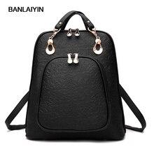Женские кожаные рюкзаки женские школьные сумки для подростков рюкзак топ-ручка сумки женские дорожные сумки рюкзак Bolsas хороший